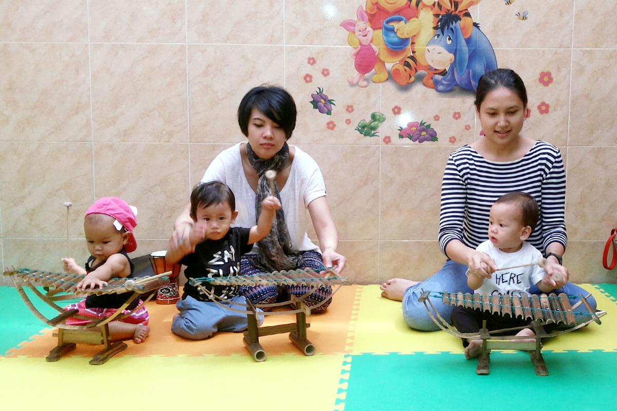 bayi di kelas bintang jonim musik