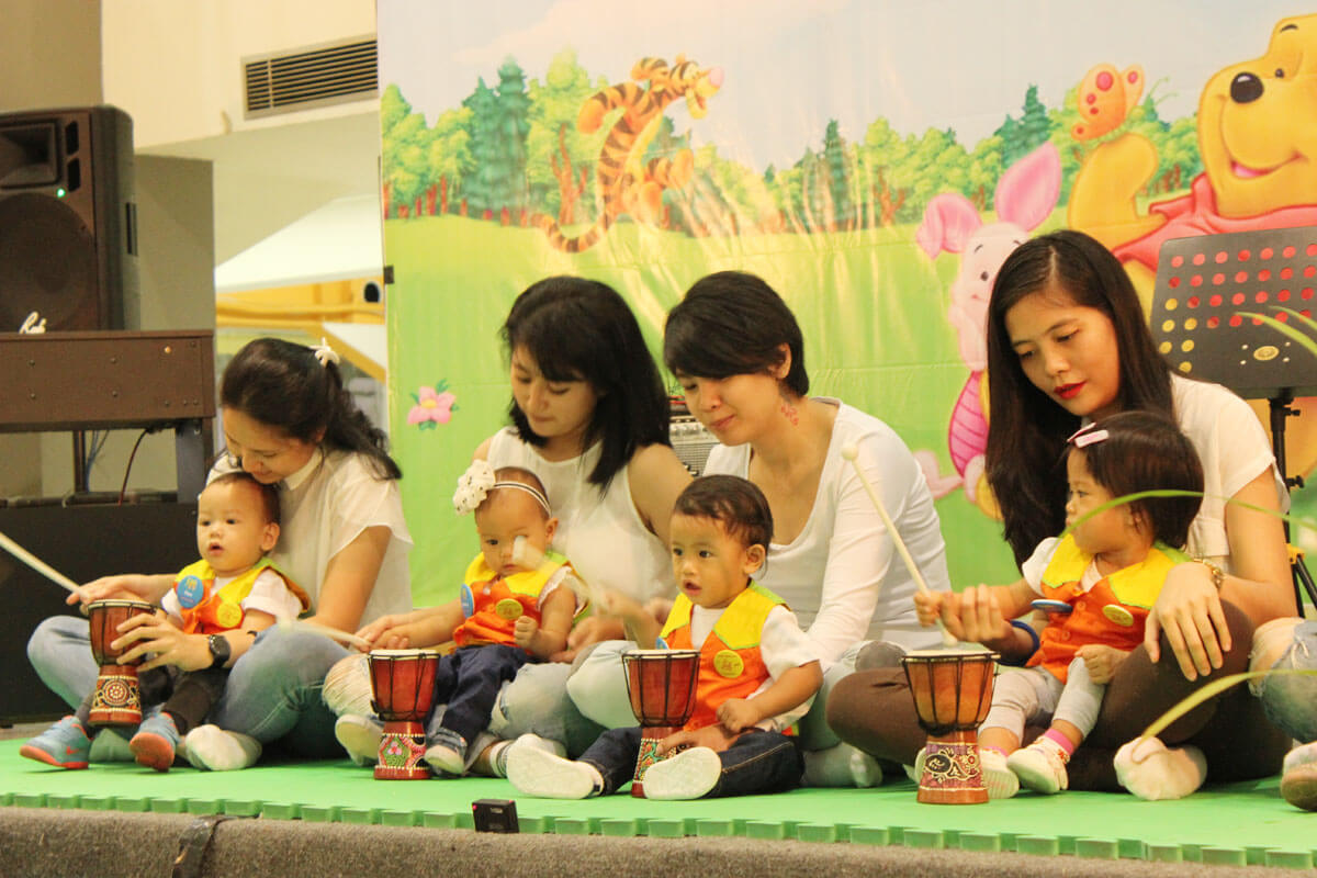konser bayi kelas bintang jonim musik